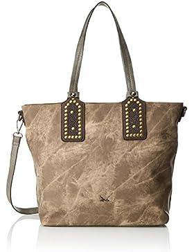 Sansibar Damen Shopper Bag Henkeltasche, 19x23x36 cm
