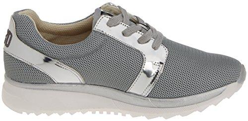 bass3d Damen 041325 Sneaker Silber