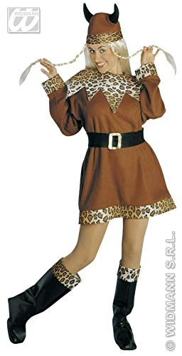 Prezer Viking Girl Wikinger Frau Kostüm Damen - M (Wikinger Frau Kostüm)