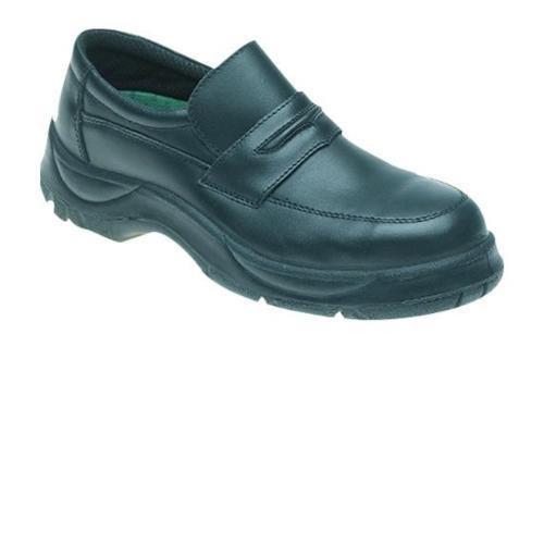 Del Himalaya 611–7.0doble densidad acolchado cuello zapatos de seguridad, tamaño 7, Negro