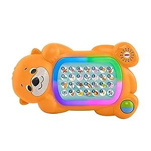 Fisher-Price - Linkimals A a Z Otter, teclado interactivo - Producto en inglés (Mattel GHR19)