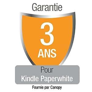 Garantie de 3 ans avec protection en cas d'accident et de vol pour le nouveau Kindle Paperwhite, réservée à notre clientèle résidant en France métropolitaine