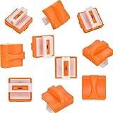 10 Pezzi Taglierina di Carta Lama Ricambio per Taglio con Design di Pressatura Sicuro per Trimmer Carta (A4)