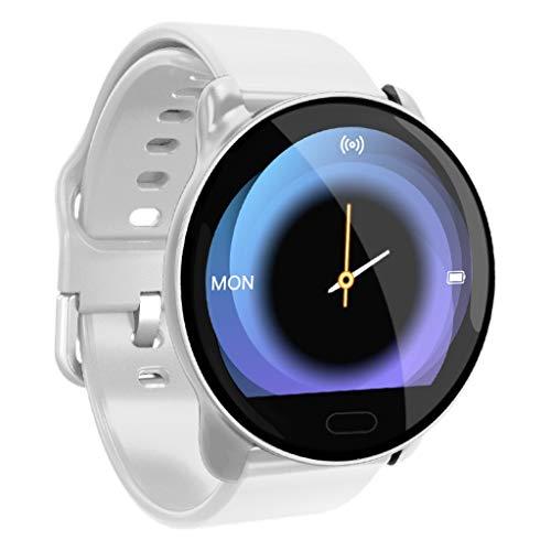 htfrgeds Smart Watch für Android iO S Phone, 1,22 Zoll Aktivität Fitness Tracker Uhren Gesundheitsübung Smartwatch mit Herzfrequenz, Schlafmonitor für Männer Frauen -