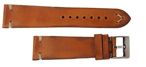 Cinturino Vintage Made in Italy (22-18, Ottanio)