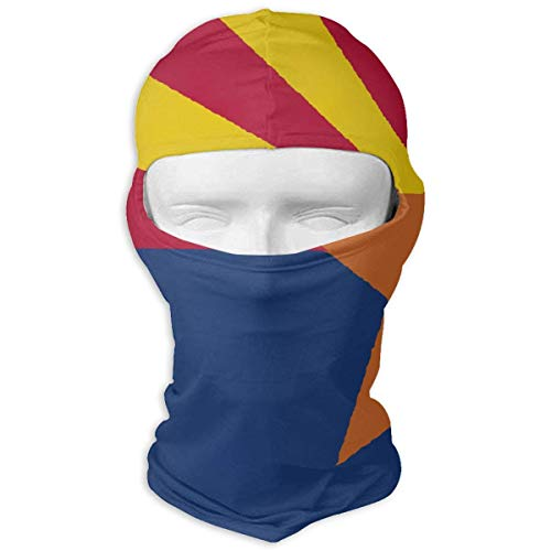 Aeykis Arizona State Flag Map Unisex-Gesichtsmaske Dust Sun UV-Schutz Sun Mask (Colts Baby Gear)