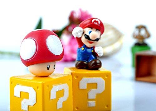 Super-Mario-Bros-Goomba-Luigi-5cm-PVC-Figuarts-Personaggi-e-Action-Figure-5-pezzoset