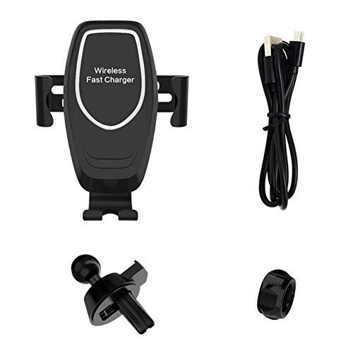 Saihua Multifunktional Schnelle Aufladung des drahtlosen Autos,10W Universal Car Wireless Ladegerät Car Air Halterung für Entlüftungsmontage