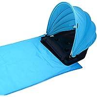 Sfit 1Set Abri Solaire et Couverture de Plage Ombre Abris de Plage Beach Parasol Extérieur Portable Réglable Protection Solaire Personnelle