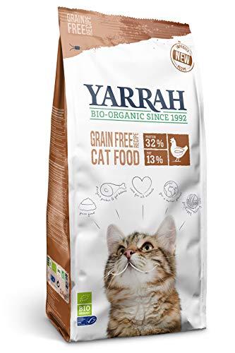 Yarrah Bio Katzentrockenfutter Grain Free, 1er Pack (1 x 6 kg)