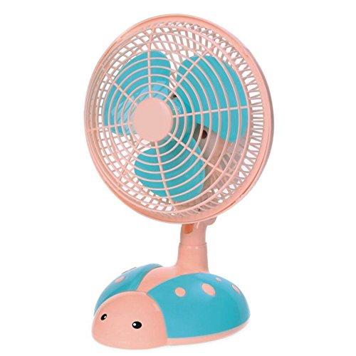 Miaoge Nett rosa Schwein Tischventilator kein Lärm Sparschwein Dual Lüfter Haushalt Mini-Ventilator 245mm