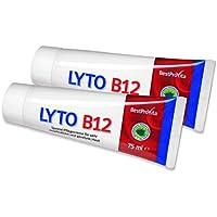 Lyto B12 2 Tuben Spezial-Pflegecreme bei Neurodermitis und Psoriasis, mit Vitamin B12 und Grander-Wasser, ohne... preisvergleich bei billige-tabletten.eu