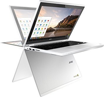 Acer R11 11.6 Inches Convertible HD IPS Touchscreen Chromebook, Intel Celeron Dual Core 2.48GHz, 4GB, 16GB SSD, 802.11ac, HDMI, Chrome OS
