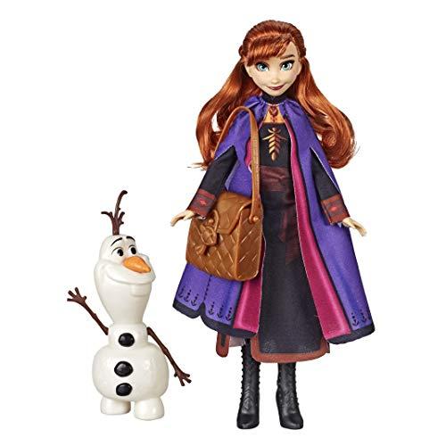 Disney La Reine Des Neiges 2 - Coffret Poupee Princesse Disney Anna 29 cm et Olaf 18 cm
