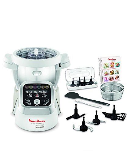 Moulinex Cuisine Companion HF802AA1 - Robot de cocina (6 programas automáticos, capacidad...
