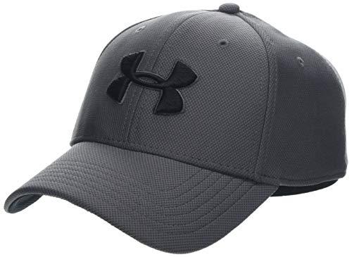 Under Armour Men's Blitzing 3.0 cap, Cappello Uomo, Grigio (Graphite Black 040), M/L