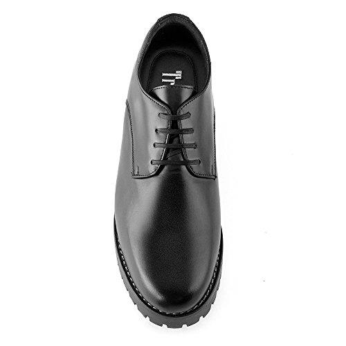 Scarpe da uomo che permettono di aumentare la statura fino a 7 cm. Modello Tormo (100% Scarpe Di Cuoio Italiane)