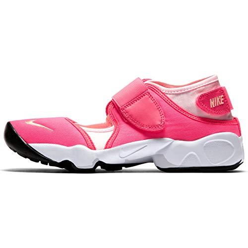 Gs Jugend-schuhe (Nike Rift Mädchen Jugend Sneaker (Rosa) (36 EU))