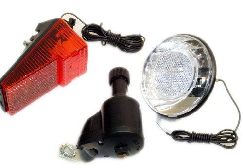 Swag Fahrrad Beleuchtung komplett Set mit Dynamo