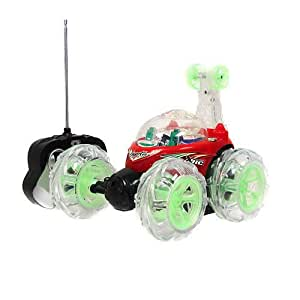Turbo 360 Twister R/c / Rc Stunt Car Flashing Lights Rechargeable Remote Control
