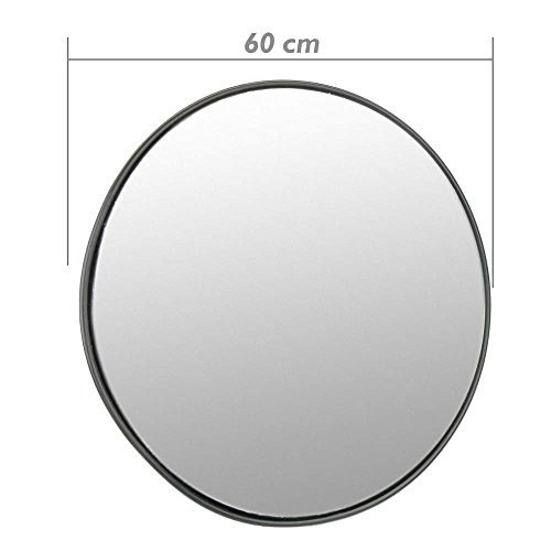 Cablematic Konvexen Spiegel Überwachungsspiegel Sicherheitsspiegel Kassenspiegel Sicherheitsspiegel 60cm Innen