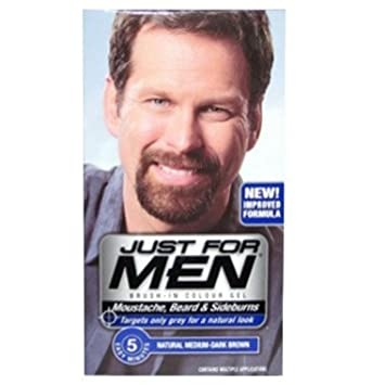 Just For Men M40 Medium Dark Brown Beard Dye: Amazon.co.uk: Beauty