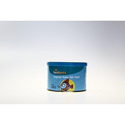 Best Pets Flockenfutter für tropische Fische (20 g) (Mehrfarbig)
