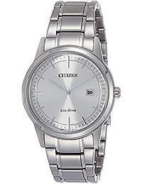 Citizen Herren-Armbanduhr XL Analog Quarz Edelstahl AW1231-58A
