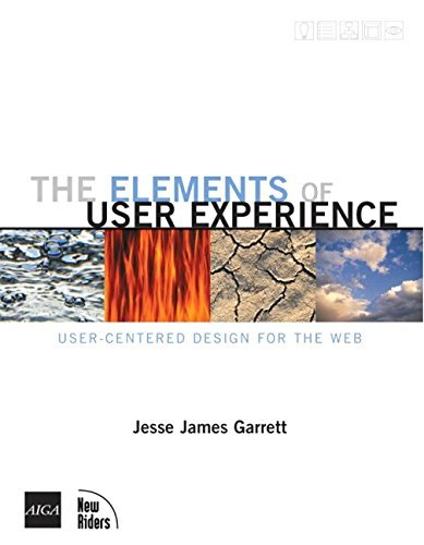 Elements of User Experience: User-centered Design for the Web (Voices (New Riders)) by Jesse James Garrett (2002-10-11)