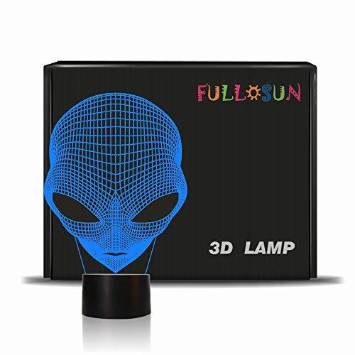 3D Kinder Nachtlicht Martian ET Projektion LED Lampe Alien Kindergarten Nachtlicht für Kinderzimmer Wohnkultur…