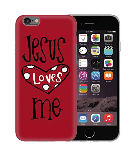 CowallsBen Jesus Loves Me Heart Faith_BEN5179 Protective Phone Mobile Smartphone Case Cover Handyhulle Handyhülle Schutz Hard Plastic for Huawei P20 Funny