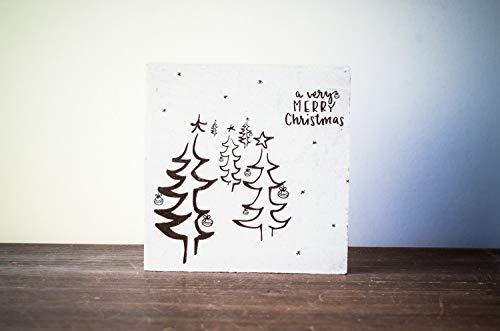 Weihnachtsbaum Weihnachtsdeko Weihnachten modern minimalistisch Merry Christmas Geschenk Wichteln Weihnachtsdekoration Shabby-Stil gifts gift for her handmade