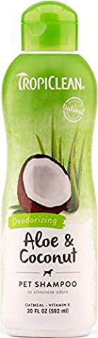 Tropiclean Aloe Moist Deodorising Shampoo, 20 oz/ 592