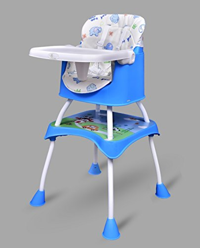 R for Rabbit Cherry Berry Grand - The Convertible 4 in1 High Chair (Blue)