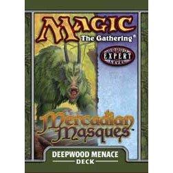 Magic the Gathering MTG Mercadian Masques Deepwood Menace Theme Deck