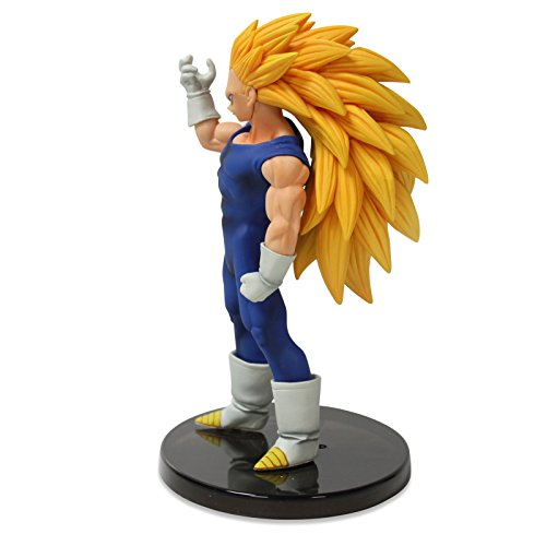 "Banpresto Dragon Ball Heroes Figure with Card 6"" Super Saiyan Vegeta Action Figure 3"