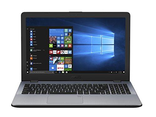 asustek 90nb0F22-m06550COMPUTER PORTATILE ibrida 15,6Grigio (Intel Core i3, 4GB di RAM, GB, Windows 10Pro) tastiera AZERTY francese