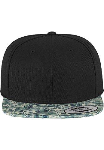 Mister Tee Dollar Snapback Cap Green One Size (Pullover Green Crewneck Wool)