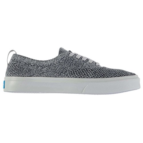 Unknown Homme The Stanley Knit Chaussures Baskets Basses Plimsoles Tennis Casual Heather Gris