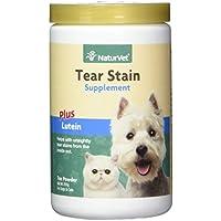 Garmon Corp naturvet Reißfestigkeit Fleck Nahrungsergänzungsmittel Plus Lutein für Hunde und Katzen, 200gm Puder, Made in USA