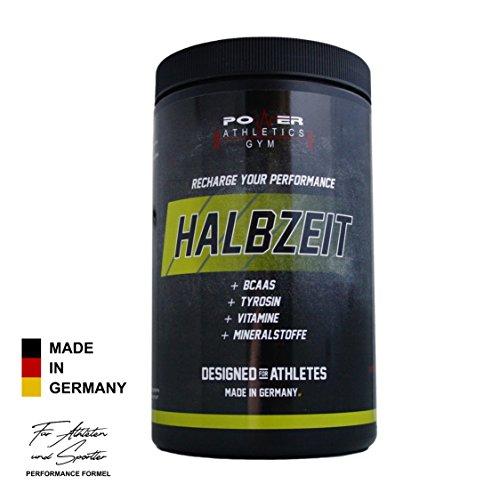 Halbzeit [hochdosiert] Mehr Energie & Ausdauer in der zweiten Spielhälfte - Spezielle Formel für Leistungssportler & Athleten - auch für Kraftsport, Kampfsport, CrossFit & Fitness - 500g Dose (Vitamin Melatonin Plus)