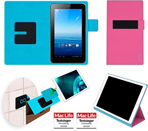 Premium 7 Tasche Cover Case Bumper | in Pink | Testsieger ()