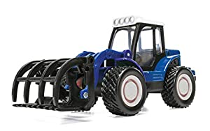 Corgi CH083 Chunkies Loader Tractor Farm, Color Azul