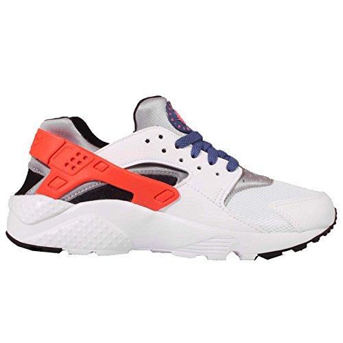 Nike Jungen Wht / Ttl Crmsn-Blck-Dk Prpl Dst Laufschuhe, Weiß Blanco (Wht / Ttl Crmsn-Blck-Dk Prpl Dst)