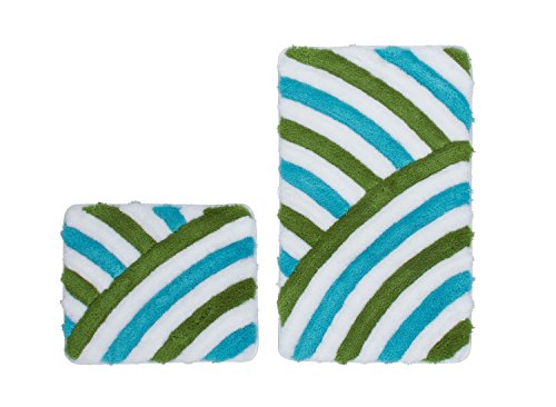 Price comparison product image Obsession Bath Mat in Style 950, aqua, Basic Set 55x90/55x45 cm