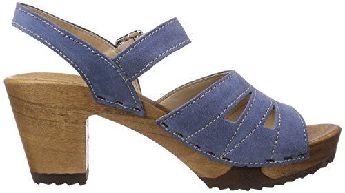 Woody - Simone, Zoccoli da donna Blu (Blau (Space))