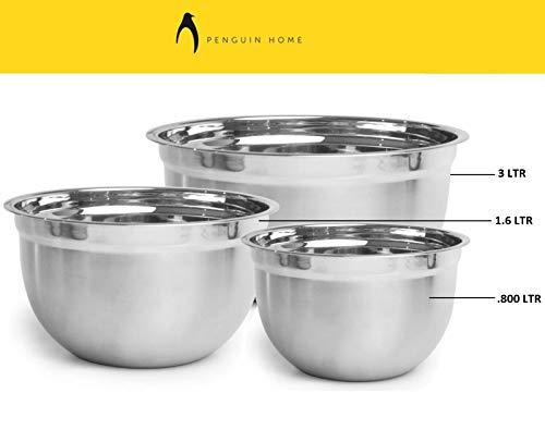 3 l Kitchen Craft Ciotola per impastare Tradizionale in gres