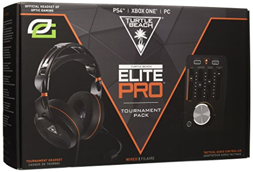 Turtle Beach Pacchetto Cuffie di Gioco per Tornei Elite Pro e T.A.C - PS4, Xbox One e PC