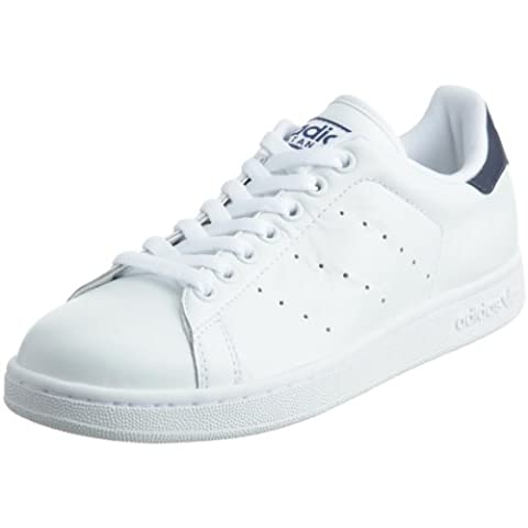 adidas Originals Stan Smith 2, Baskets mode homme, Blanc/Blanc/Marine, 40 2/3 EU