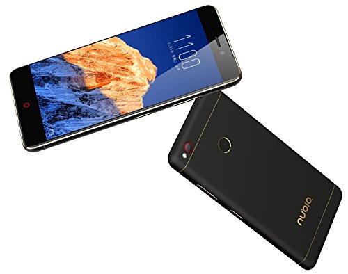 Nubia N1 Smartphone, Dual SIM, 64 GB, Nero/Oro [Italia]